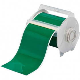 GLOBALMARK B595 VINYL TAPE GREEN 100MM X30M