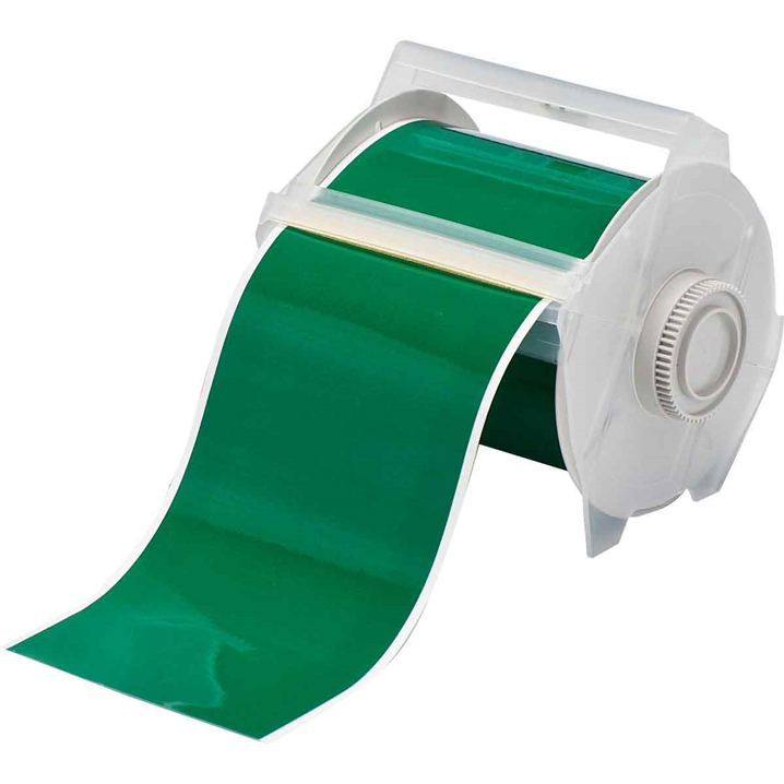 GLOBALMARK B595 VINYL TAPE GREEN 100MM X30M - Image - 1