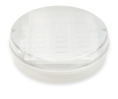Trojan Round - White Clear, with MicrowaveSensor, LED Bulkhead - Image Small - 1