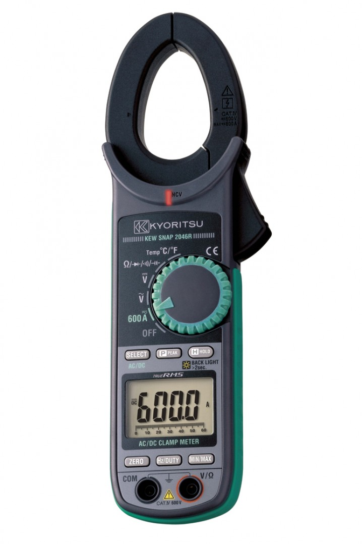 2046R AC/DC Digital Clamp Meter - Image - 1