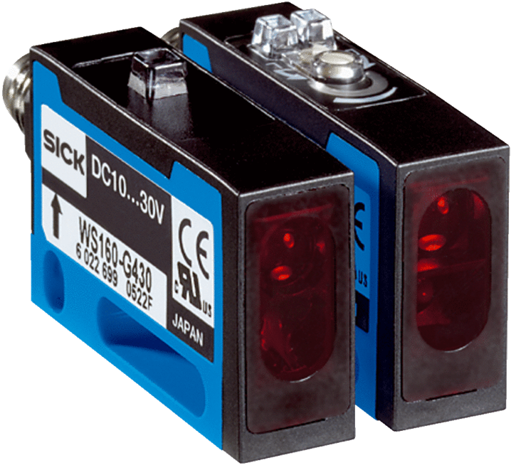 WS/WE160-F430 Through-beam Photoelectric Switch - Image - 1