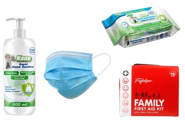 COVID COMBO x 3 with free First Aid Kit