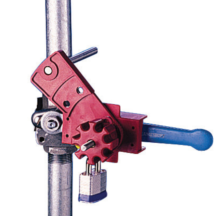UNIVERSAL BALL VALVE LOCKOUT DEVICE LRG  - Image - 1