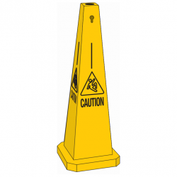 SAFETY TRAFFIC CONE CAUTION