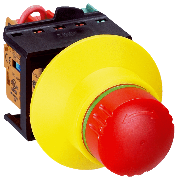 ES21-SB10G1 Emergency Stop Pushbutton - Image - 1