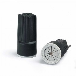 61235 DryConn® Black/Grey Irrigation Wire Connectors 20 Bag - Wire Size: 0.34 To 10mm
