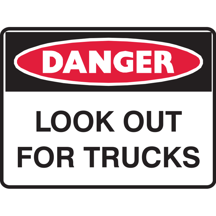 LOOK OUT FOR TRUCKS 600X450 MTL      - Image - 1