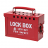 GROUP LOCK BOX RED