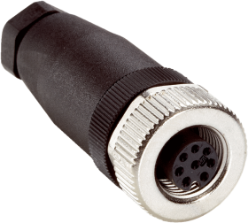 DOS-1208-G female connector straight