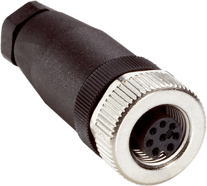 DOS-1208-G female connector straight - Image - 1