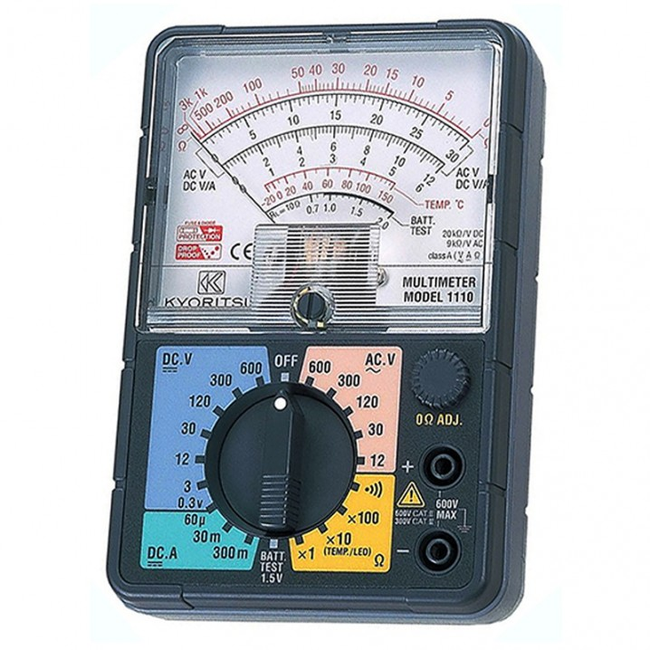 1110 Analogue Multimeter - Image - 1