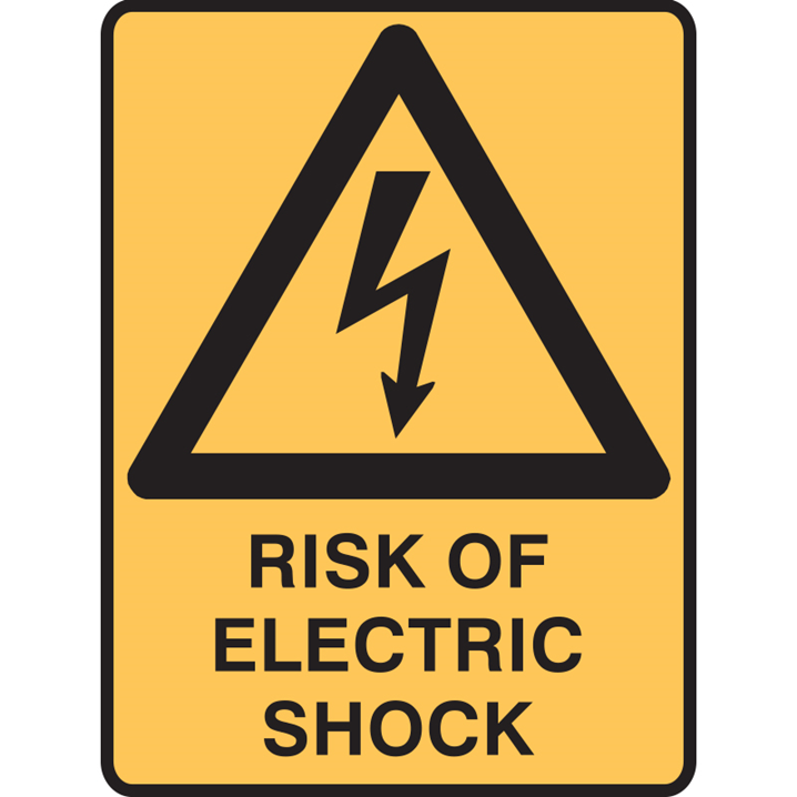 RISK OF ELECTRIC SHOCK LBLS PK5      - Image - 1