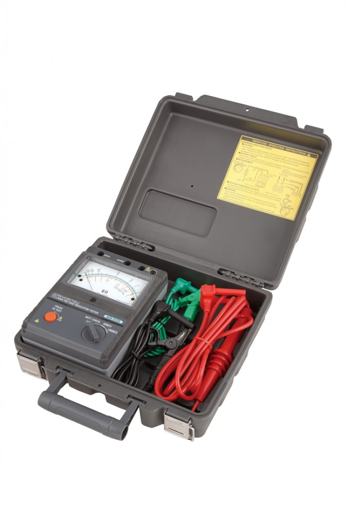 3123A High Voltage Analogue Insulation Tester - Image - 1
