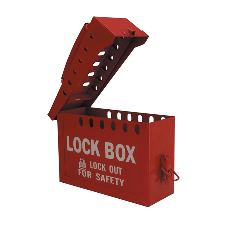 GROUP LOCK BOX RED            - Image - 2