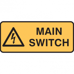 MAIN SWITCH 125X300 POLY