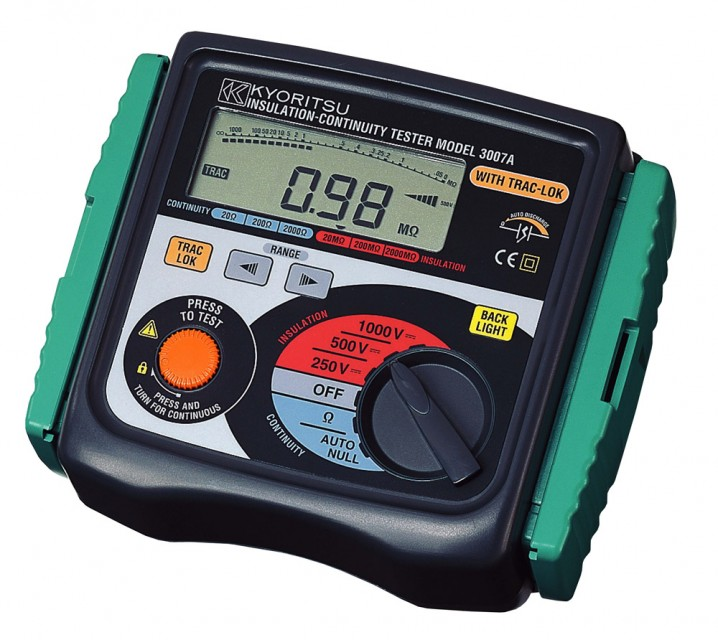3007A Analogue Insulation Tester - Image - 1