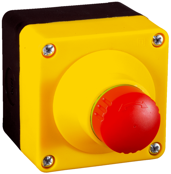 ES21-SA10F1 Emergency Stop Pushbutton - Image - 1