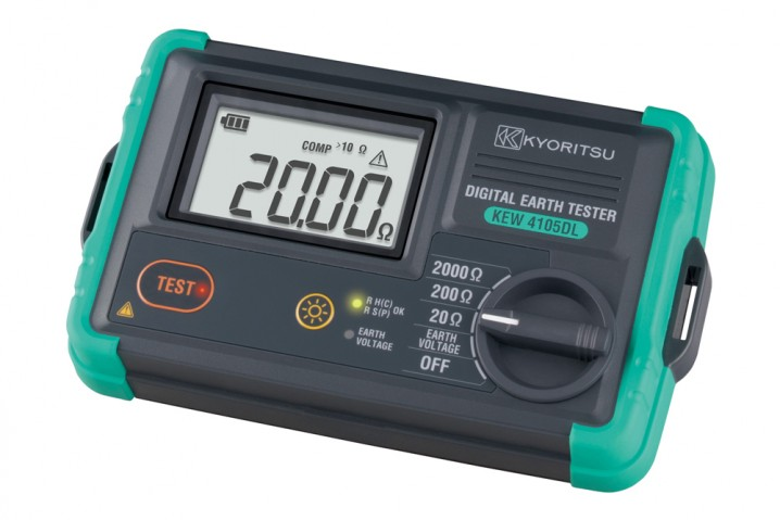 4105DL Digital Earth Tester - Image - 1