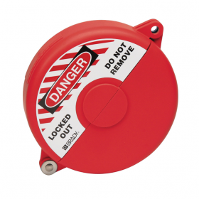 GATE VALVE LOCKOUT 125-162MM DIA RED