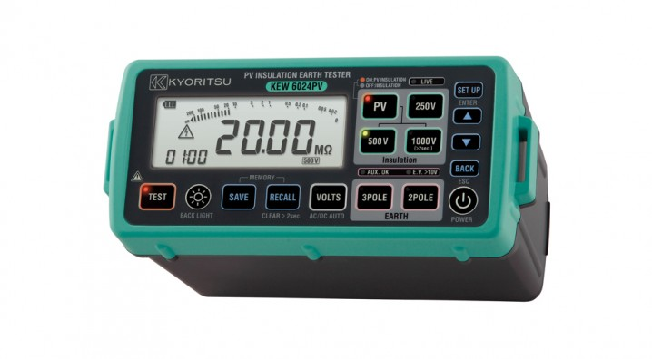 6024PV PV Insulation Earth Tester - Image - 1